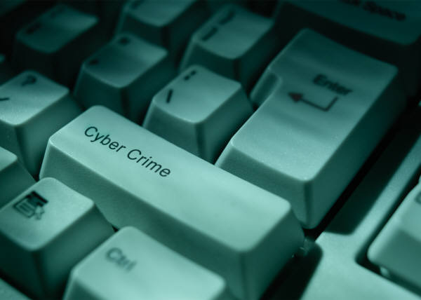 Cyber Crime keyboard